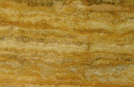 Giallo vein cut travertine 1